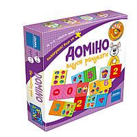 Настольная игра Granna Домино Учусь считать (82500)
