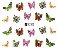 Слайдер-дизайн бабочки №А342