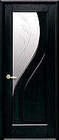 Двері міжкімнатні Новий Стиль, Маестра, модель Прима, зі склом сатин з малюнком P2