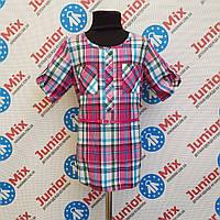 Детская рубашка в клеточку на девочку GAJA