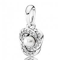 Подвеска «Любовные узы» из серебра Pandora, 390401WCP