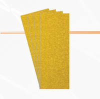 "Бумага шлифовальная в листах ""Yellow"" 40, 115х280"