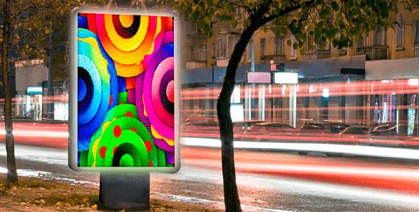Светодиодный экран Flylights DIP P13