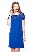 """Плаття гіпюрна кокетка """"Tiffany"""" електрик платье гипюр"""
