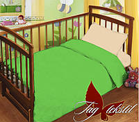 Детский постельный комплект в кроватку 1,1 поплин