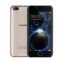 Смартфон ORIGINAL Doogee Shoot 2 Gold (4 Core; 1.3Ghz; 2GB/16GB; 3360 mAh)