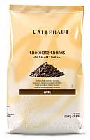 Шоколад термостабильный кубиками черный Callebaut 10кг/упаковка
