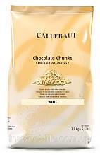 Шоколад термостабільний білий кубиками Callebaut 10кг/упаковка