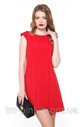 """Сукня """"Кокетка"""" кост. тк червона платье красное"""