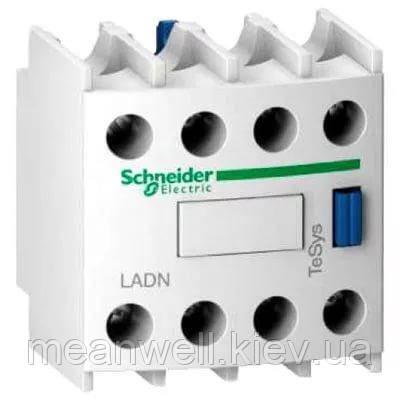 LADN13 Блок вспомагательных контактов Schneider Electric (серии D) 1NO+3NC, монтаж спереди, винтовые зажимы