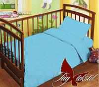 Постельный комплект в кроватку для мальчика 1,1 поплин