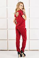 Спорт костюм Olis Style Канель (44-54) бордо