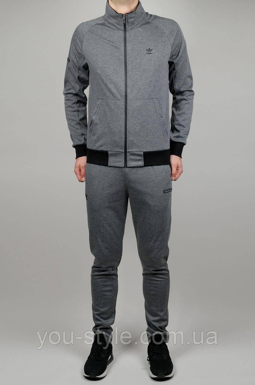 Мужской спортивный костюм ADIDAS 3711 Серый - Интернет магазин
