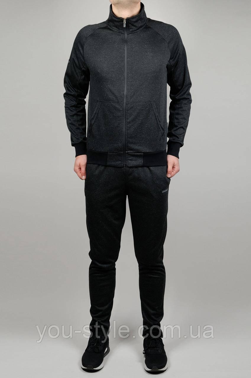 Мужской спортивный костюм ADIDAS 3712 Чёрный - Интернет магазин