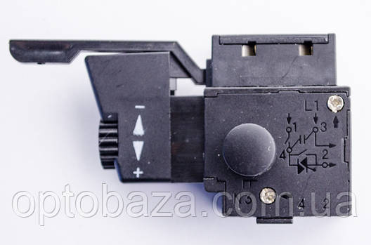 Кнопка для дрели Ferm, Stern c реверсом, фото 2
