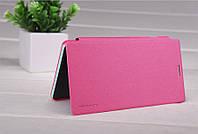 Чехол книжка Nillkin Sparkle для Sony Xperia C4 розовая