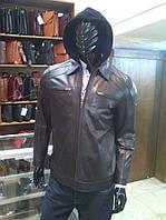 Мужская кожаная куртка, модель В 046