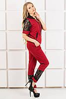 Спорт костюм Olis Style Рошаль (44-54) бордо