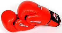 Боксёрские перчатки Everlast, Shark sport 10/12 унц кожа