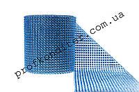 Декоративная лента для декора Синий электрик ширина 12см