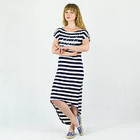 Платье туника женская Style полосатая батал