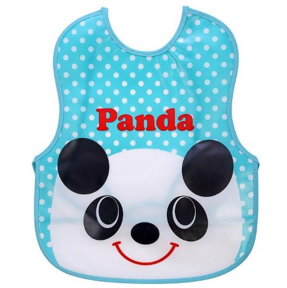 Слюнявчик на завязках Panda (02159)