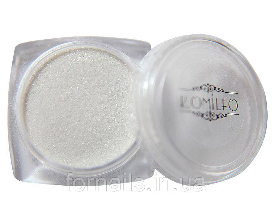 Акриловая пудра Komilfo 002 Silver Glitter (3 г)