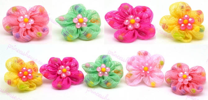 Резинка для волос детская Цветок