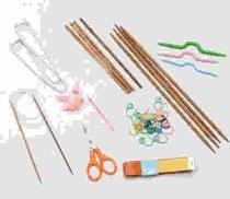 Спицы, крючки и аксессуары для вязания
