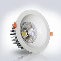 Светильник LED OPTONICALED 25W 6500К круг 182*102 мм встраиваемый