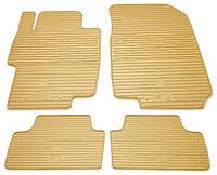 Резиновые коврики для Honda Accord 7 2002-2007 (STINGRAY)