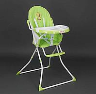 Детский стульчик для кормления салатовый Joy