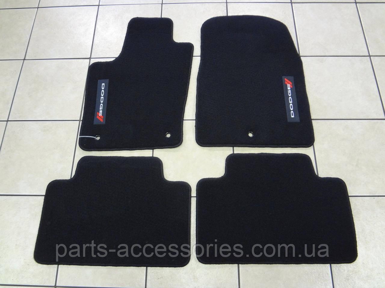 Dodge Durango 2011-17 коврики в салон велюровые черные Новые Оригинальные