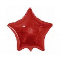 Звезда фольгированная 18 дюймов красная flexmetal