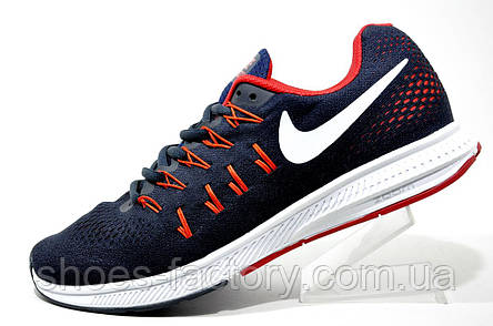 Кроссовки для бега Nike Zoom, Dark Blue\Red, фото 2