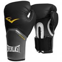 Тренировочные боксерские перчатки Everlast Pro Style Elite 8унц. черные, арт. 2308Y