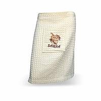 Килт-юбка вафельная для сауны, кремовая, 270гр/м2, 55х160см, 126187 (TK)