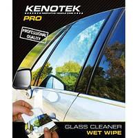 Вологі салфетки для автомобільного скла Glass Cleaner Wet Wipe