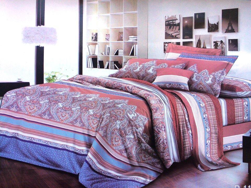 Полуторный комплект постельного белья Золотой Сезам