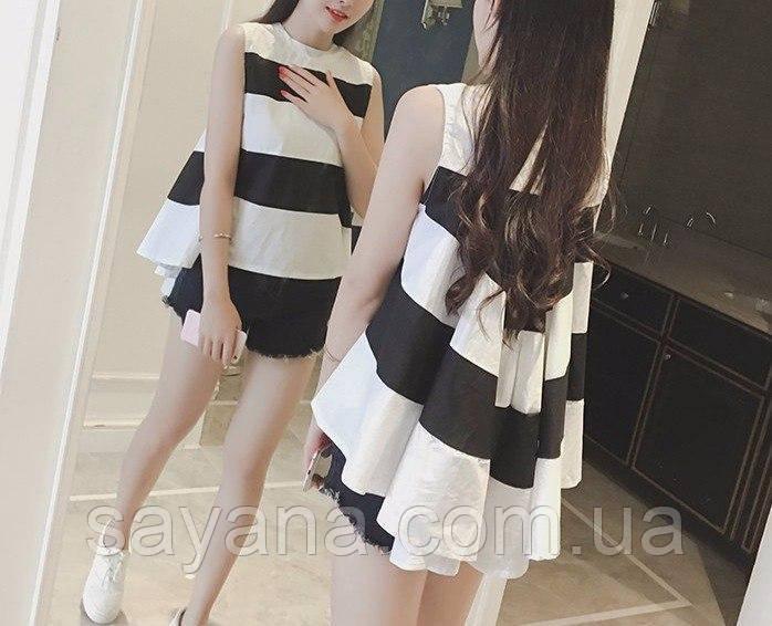 Женская блуза со шлейфом. ФК-5-0517