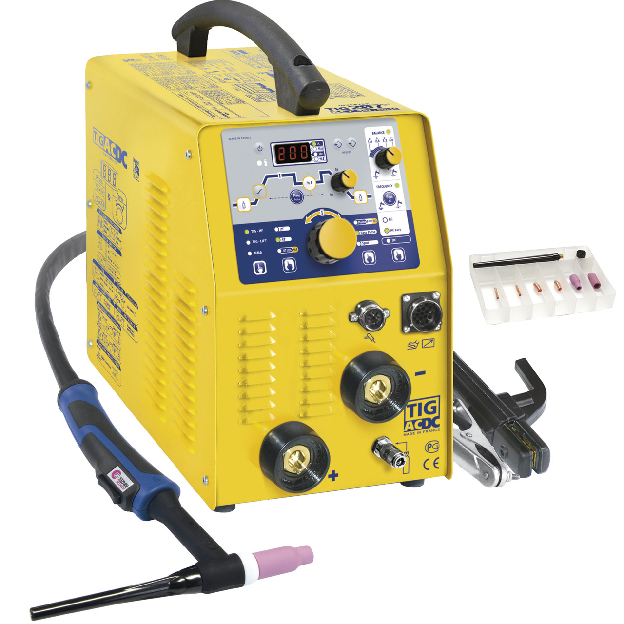 Сварочный инвертор GYS TIG 207 AC/DC HF FV - ACC. SR26DB-4M