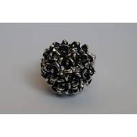 Шарообразное стильное кольцо для девушки. Красивый аксессуар. Хорошее качество. Доступная цена. Код: КГ1229