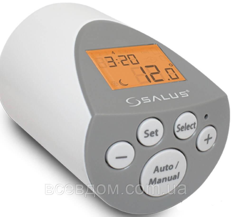 Радиаторная электронная головка с недельным программированием Salus Standart PH60