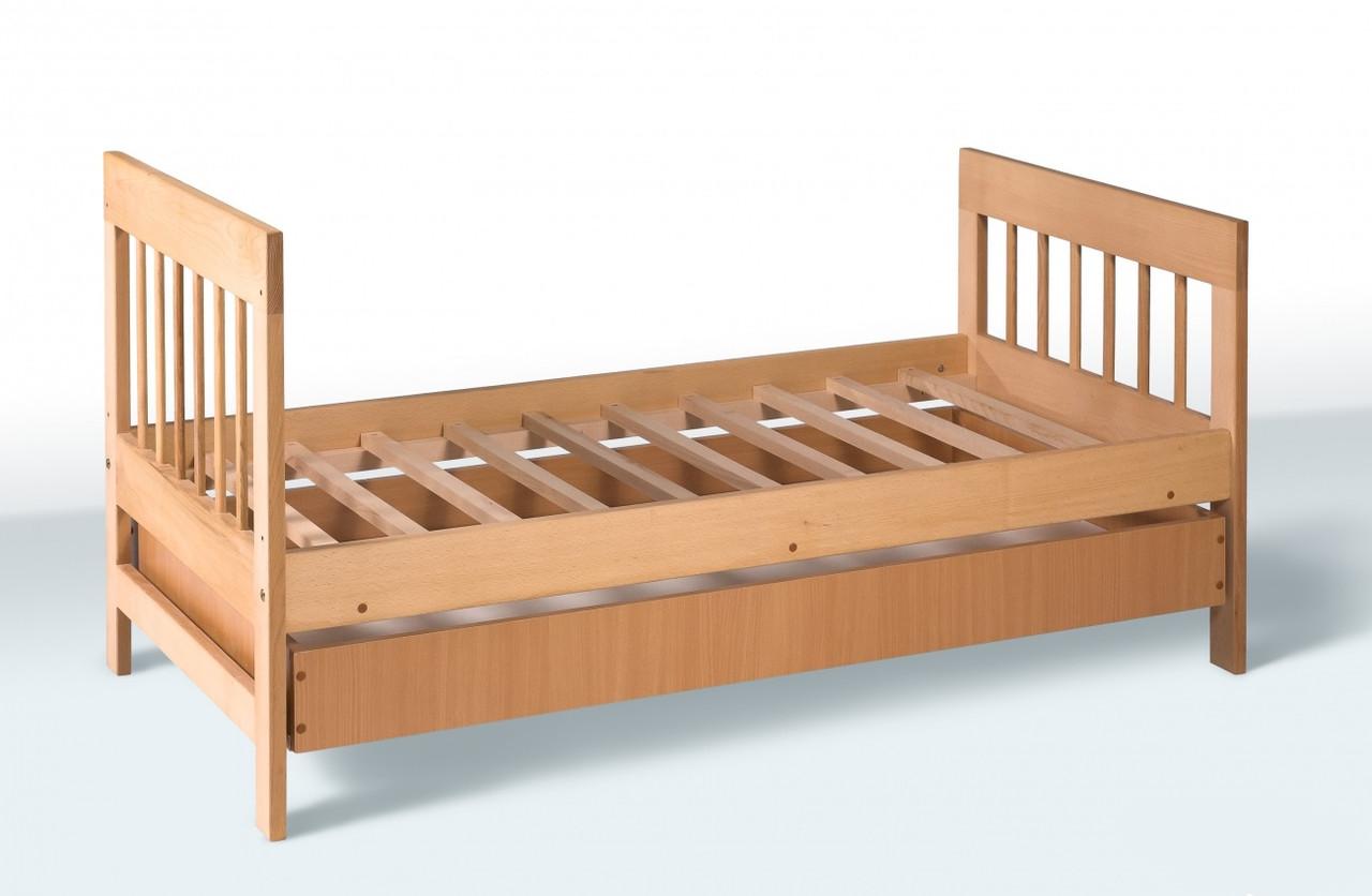 Кровать подростковая с выдвижным ящиком, фото 1