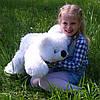 Мягкая игрушка Мишка Умка лежащий, 50 см, фото 5