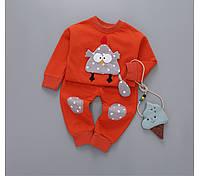 Детский костюм весна\осень оранжевый