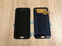 Дисплей Samsung A720F Black GH97-19723A оригинал!