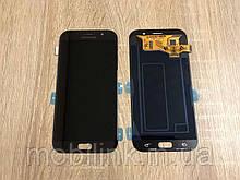 Дисплей на Samsung A720 Galaxy A7(2017) Чёрный(Black),GH97-19723A, Super AMOLED!