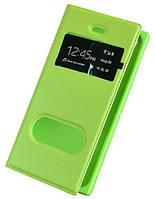 Салатовый чехол-книжка с функцией подставки для Iphone 4/4S, фото 1