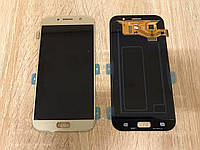 Дисплей Samsung A320F/DS Gold GH97-19732B оригинал!